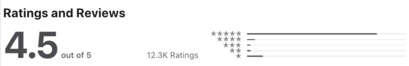 shakepay apple app reviews