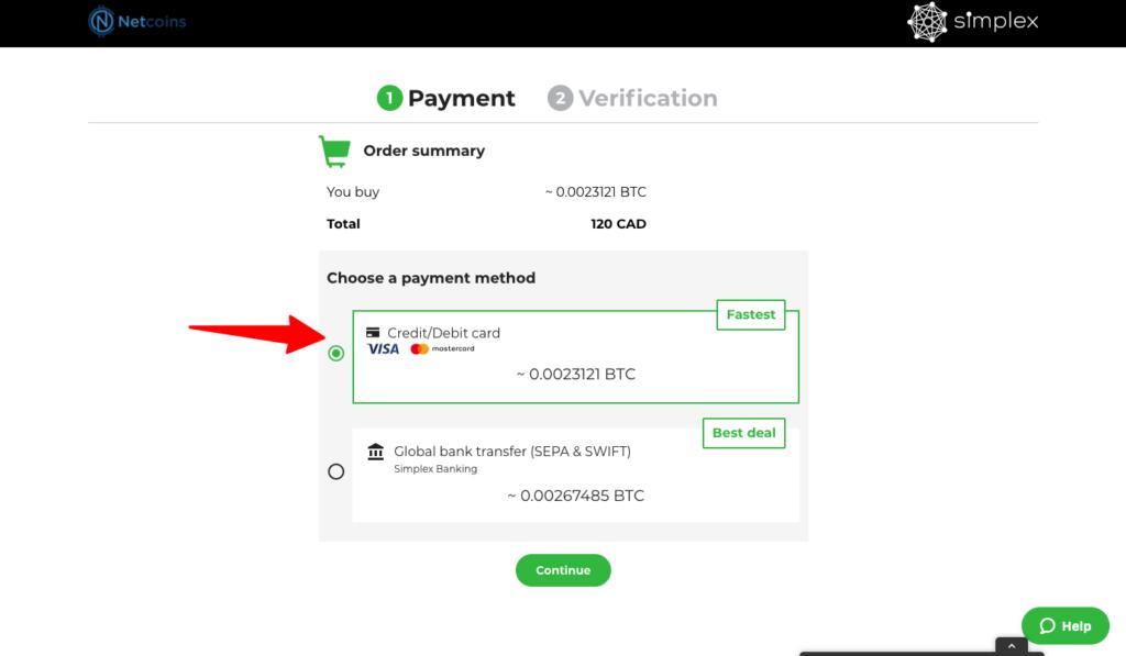 Buy Bitcoin Credit Card Canada